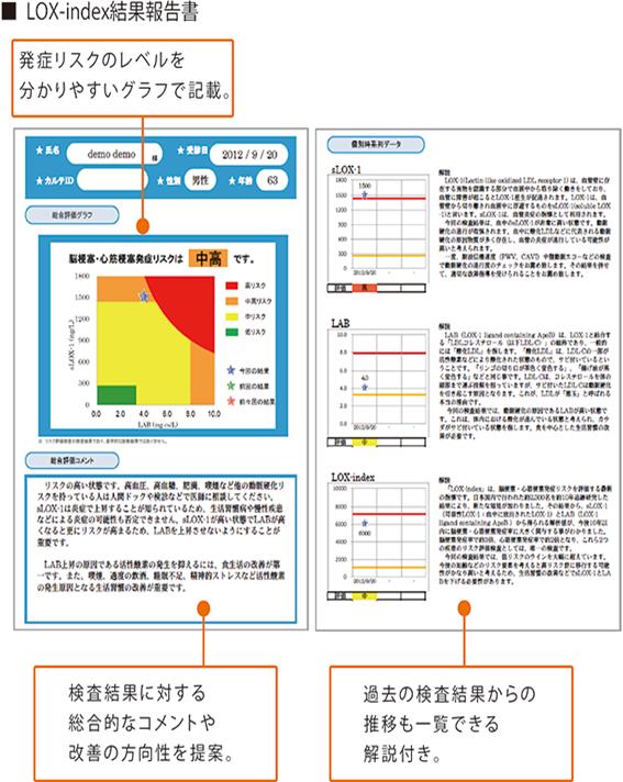 LOX-index結果報告書
